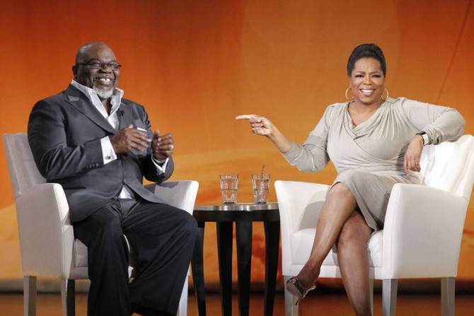 OWN ACQUIRES RIGHTS TO BISHOP TD JAKES TALK SHOW