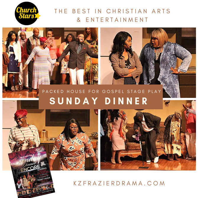 SUNDAY DINNER THE STAGE PLAY BACK BY POPULAR DEMAND