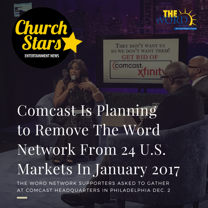 COMCAST REMOVING THE WORD NETWORK FROM 7 MILLION HOMES