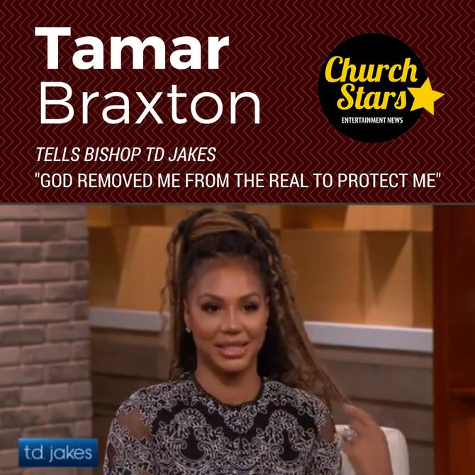TAMAR BRAXTON ON TD JAKES SHOW