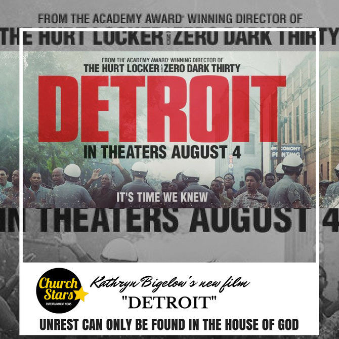 """""""DETROIT"""" UNREST CAN ONLY BE FOUND IN THE HOUSE OF GOD"""