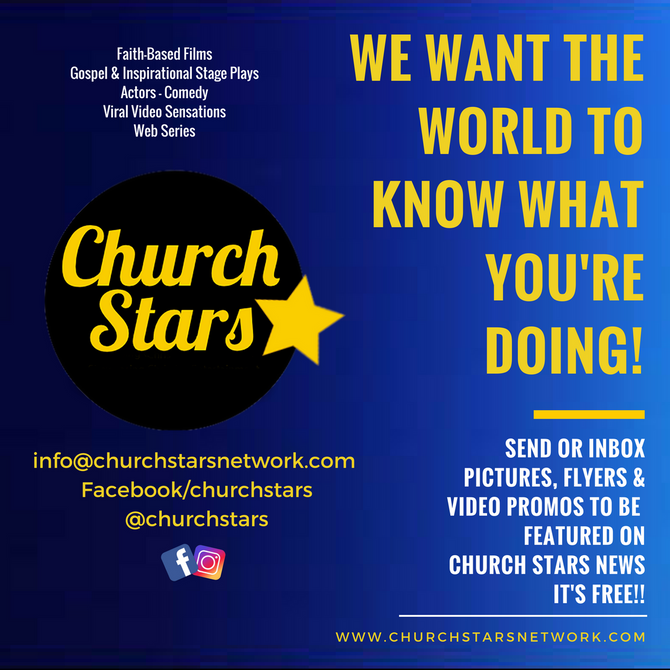 IT'S TIME FOR THE WORLD TO KNOW ABOUT THE CHRISTIAN ARTS COMMUNITY!