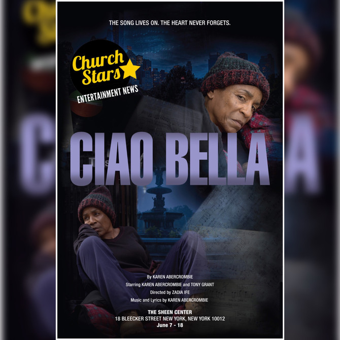 """WAR ROOM'sMS. CLARA NEW SHOW """"CIAO BELLA""""PREMIERE JUNE 7-18IN NYC"""