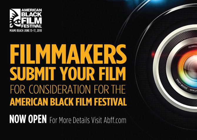 AMERICAN BLACK FILM FESTIVAL SUBMISSIONS JANUARY 31