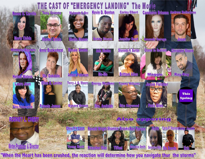 "Rodney Cherry's ""Emergency Landing"" is Cast and Ready to Film in the East & West"