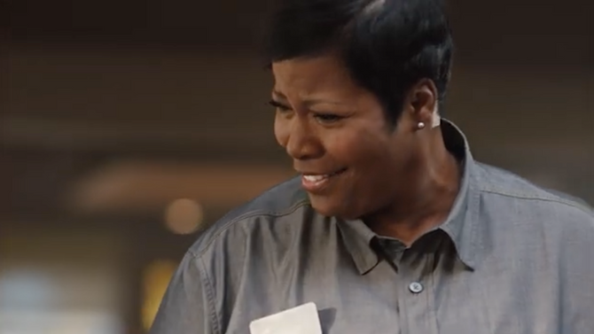 TRINA JEFFRIE FEATURED IN A NATIONAL DENNY'S COMMERCAL