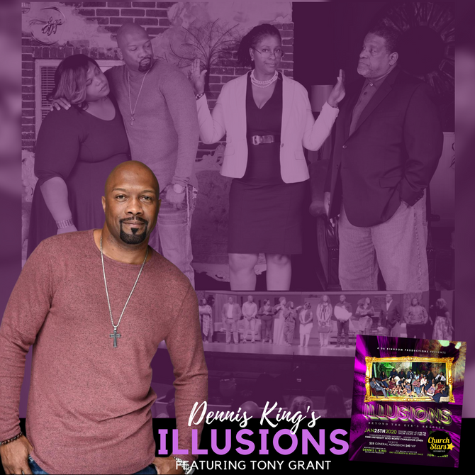 ILLUSIONS STARRING ACTOR TONY GRANT