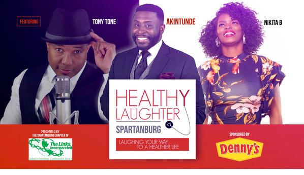 HEALTHY LAUGHTER TOUR KICK-OFF IN ATLANTA