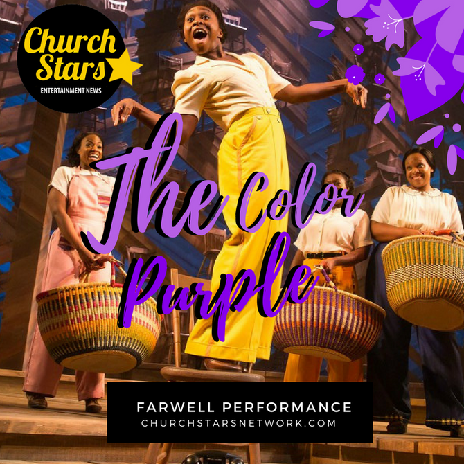 "FAREWELL PERFORMANCE OF ""THE COLOR PURPLE"""