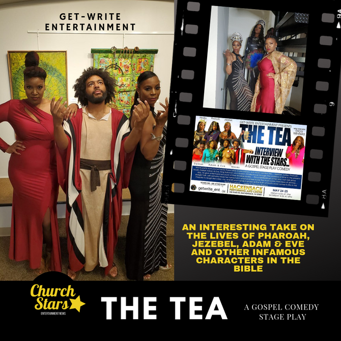 THE TEA - A GOSPEL COMEDY STAGE PLAY