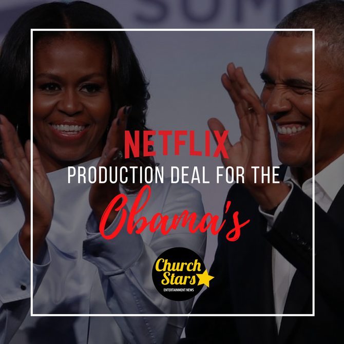 THE OBAMA'S SIGN NETFLIX PRODUCTION DEAL