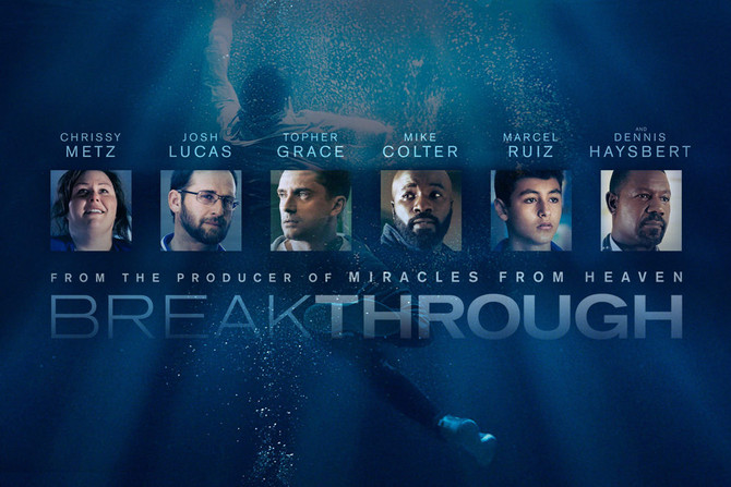 BREAKTHROUGH IS A BOX OFFICE HIT EASTER WEEKEND