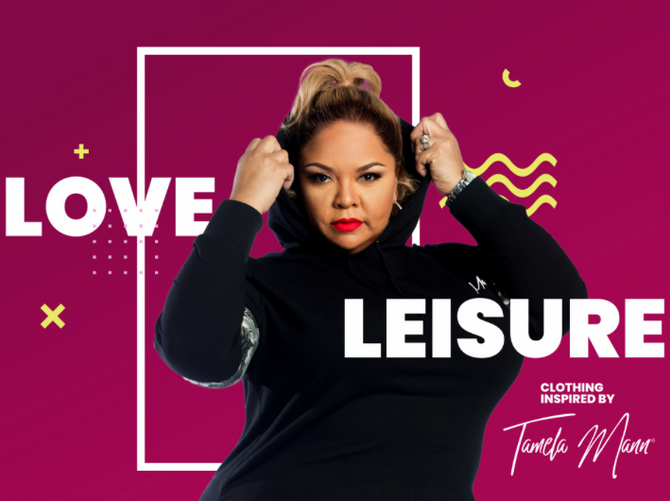 TAMELA MANN LAUNCHES NEW SPORTSWEAR LINE AND BECOMES WEIGHT WATCHERS AMBASSADOR