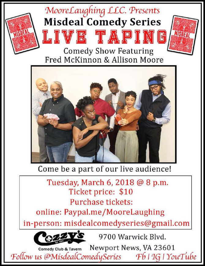 MISDEAL COMEDY SERIES LIVE TAPING