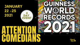 4 DAY WORLD RECORD COMEDY SHOW