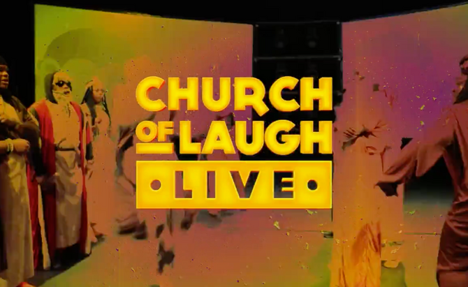CHURCH OF LAUGHS TOUR SELLING OUT ACROSS THE COUNTRY