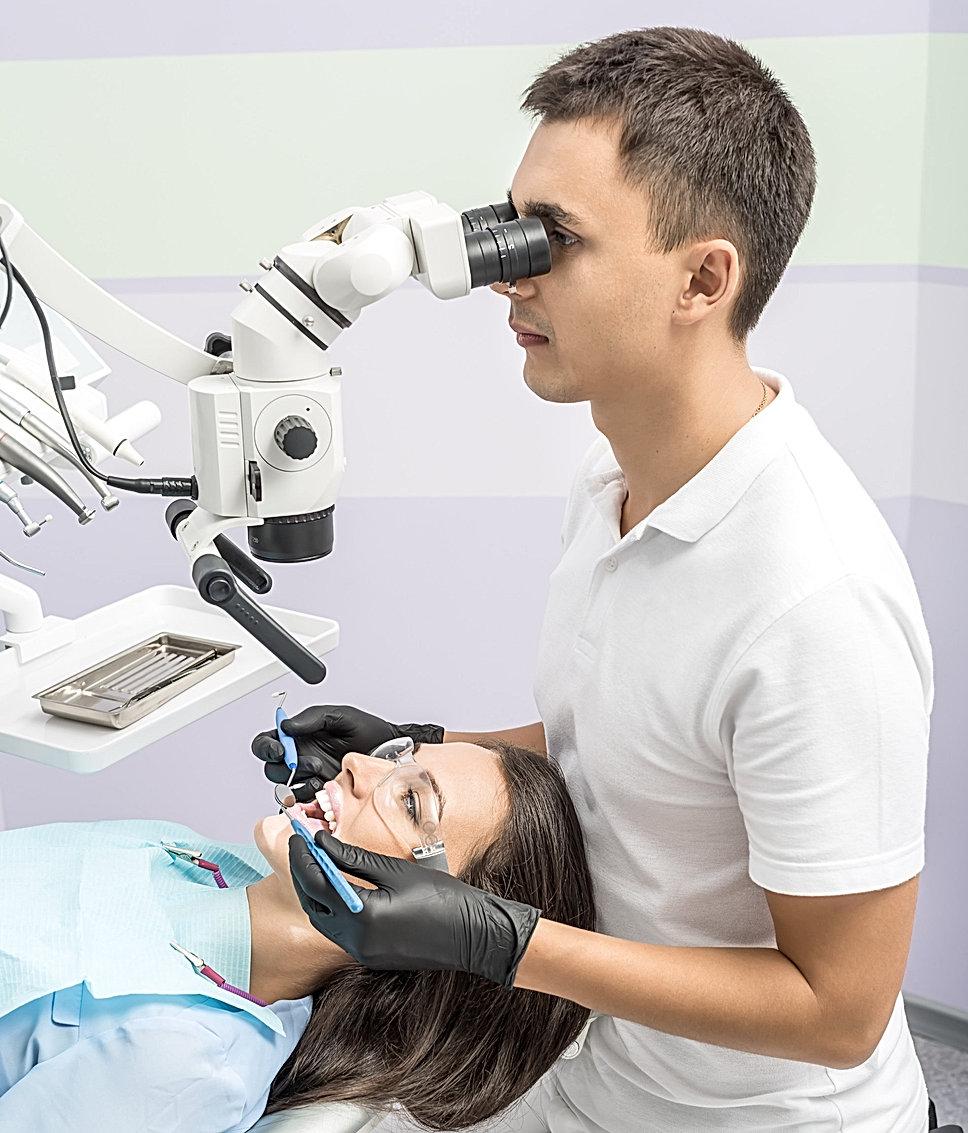 Dental microscope SCANER Pro Microscope4dental.com