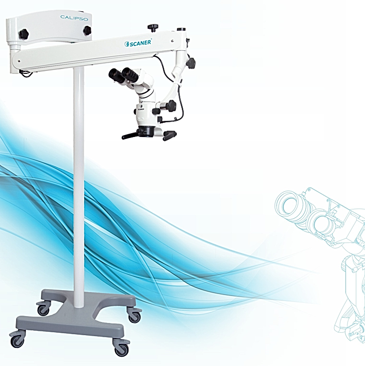 Dentalmikroskop Rollenstativ Microscope4dental.coml