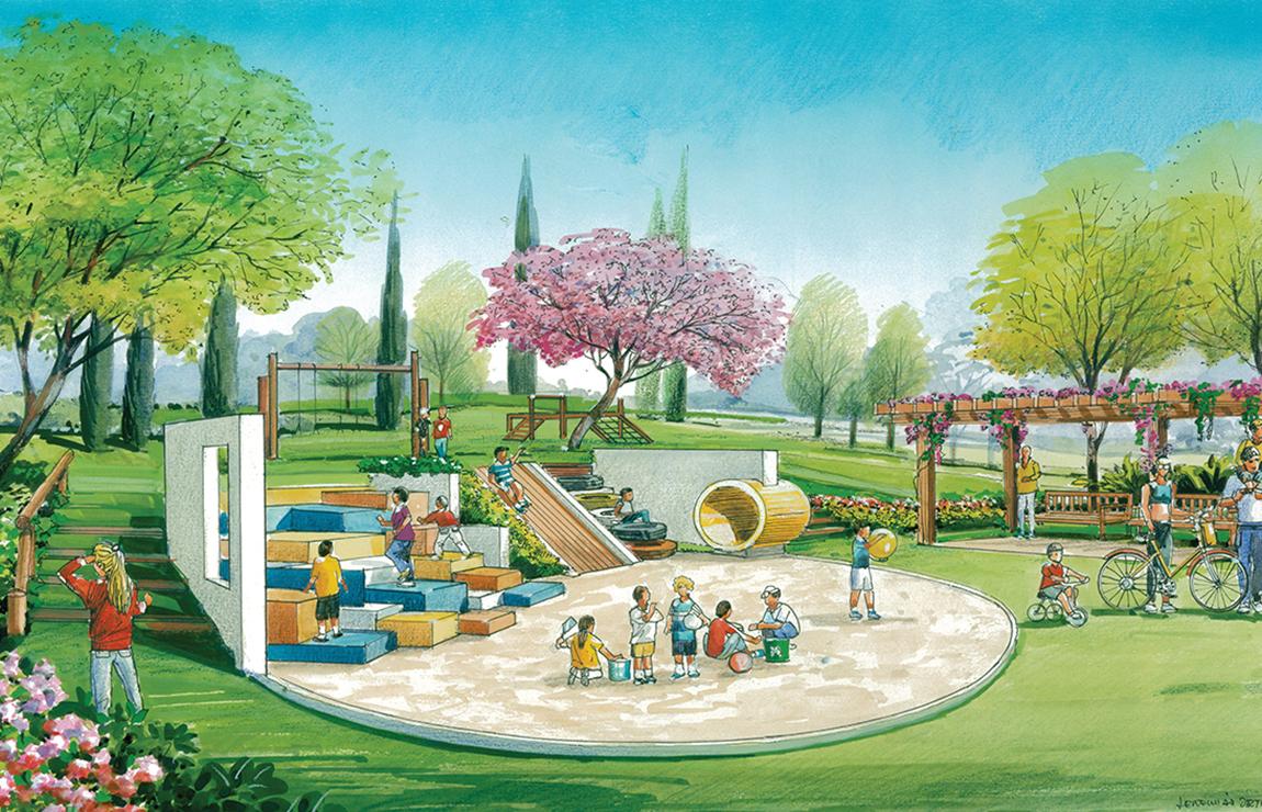 Playground e Praça dos Pais