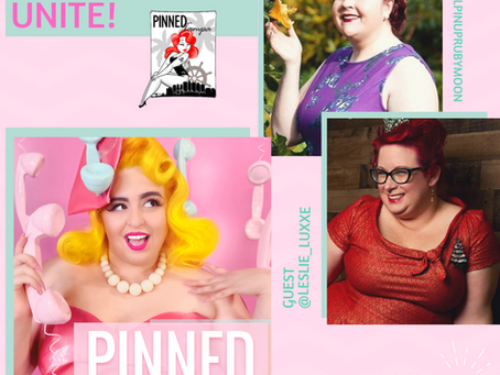 Tampa Pinups Unite! Featuring Ruby Moon & Leslie Luxxe from PINNED Tampa - PINNED Podcast: Episode44