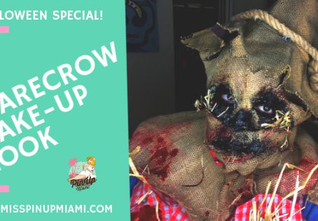 Halloween Makeup How To - Scary Scarecrow