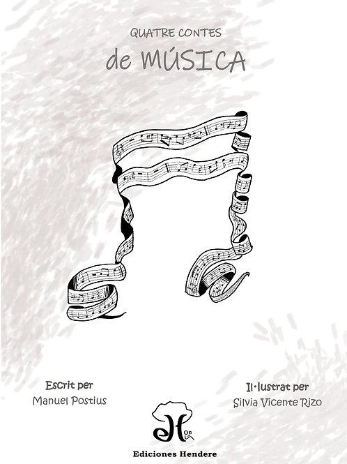Quatre contes de música