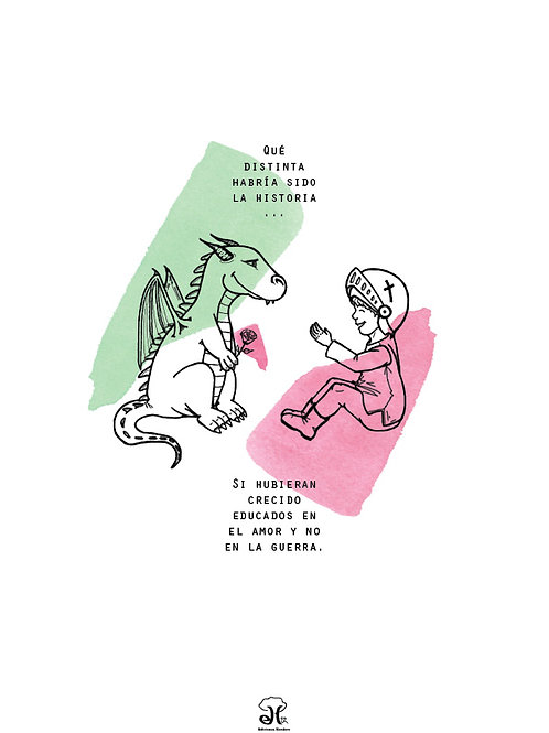 Lámina ilustrada