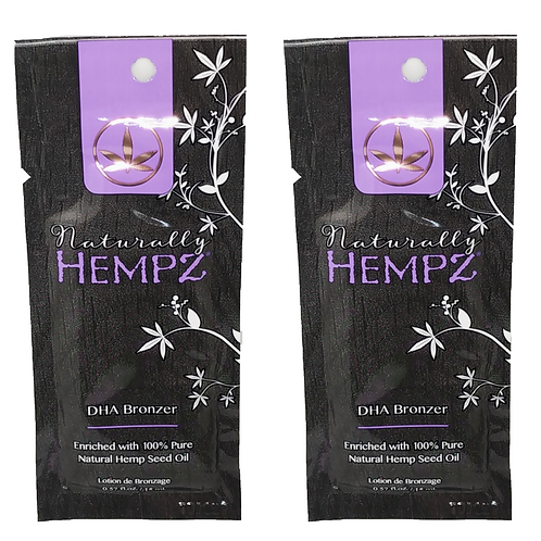Naturally Hempz * Natural DHA Bronzer * (2)Packettes