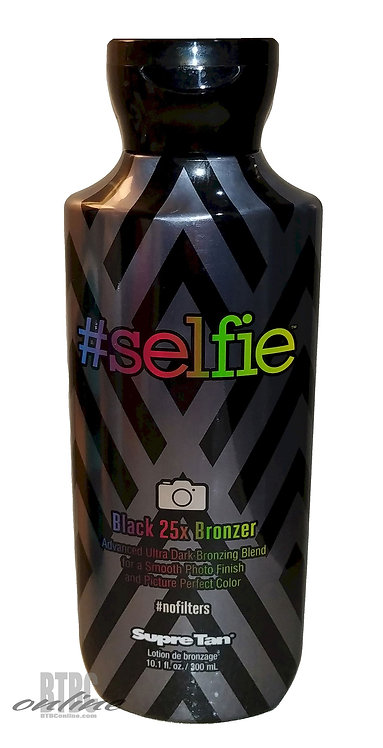#Selfie Black 25X Bronzer Picture Perfect Color * 10.1oz Bottle
