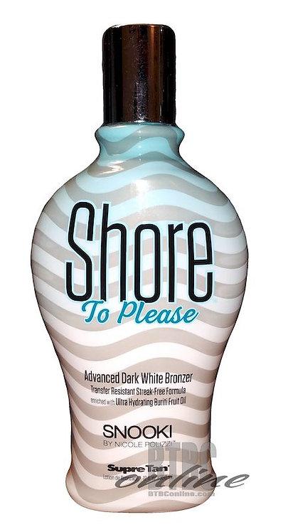 Shore To Please * Advanced Dark White BRONZER * DYE-FREE * 12oz Bottle