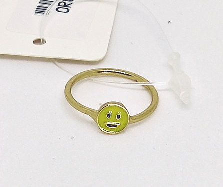 Smiley Face emoji ring * Pinky * Mid Ring * Child * G14