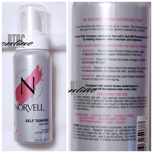 Norvell - Sunless Tanning Mousse