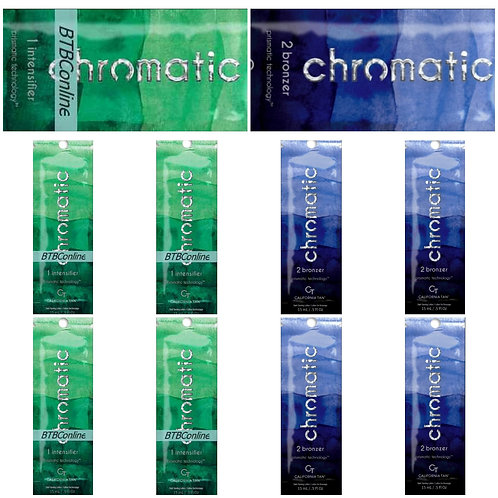 Chromatic Step 1 & 2 * LOT OF 10 Packettes