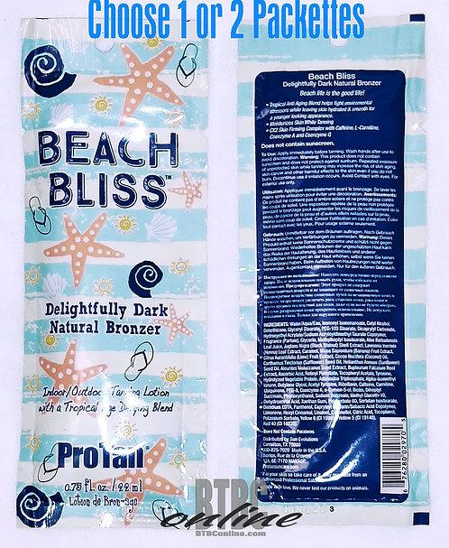 ProTan * BEACH BLISS * Delightfully Dark Natural Bronzer Indoor/Outdoor