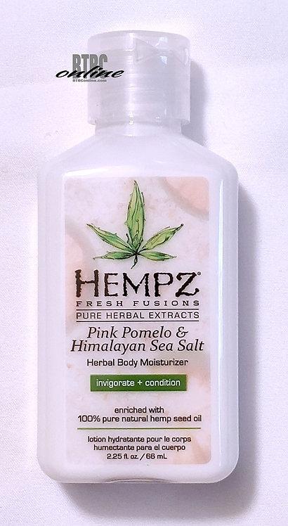 Pink Pomelo & Himalayan Sea Salt Herbal Body Moisturizer * 2.25oz