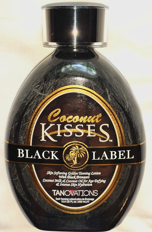 Coconut Kisses BLACK LABEL * Black Bronzer * 13.5oz Bottle