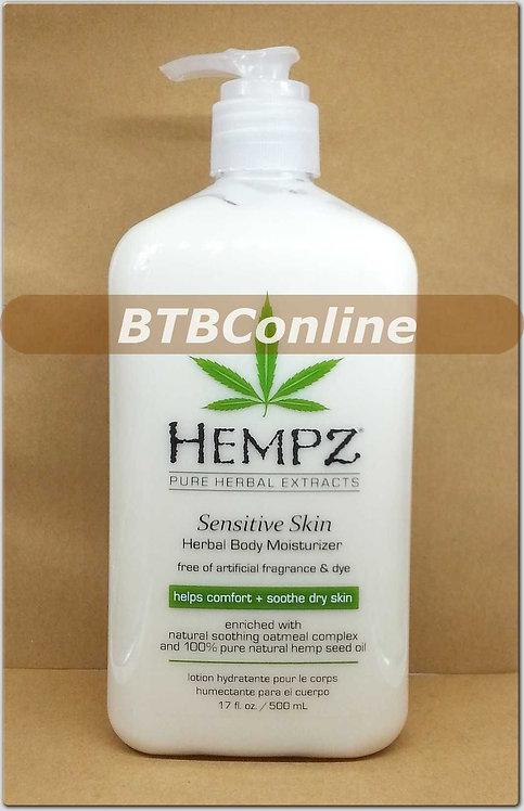 Sensitive Skin * Herbal Body Moisturizer 17oz Bottle