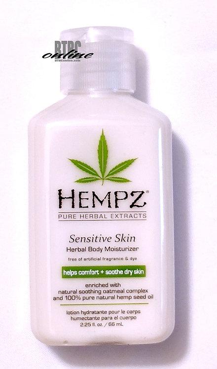 Sensitive Skin Herbal Body Moisturizer * 2.25oz Bottle