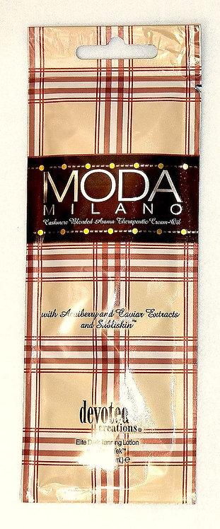 MODA MILANO * Cashmere blended Aroma therapeutic cream-oil * (2) .5oz Packettes