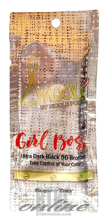 GIRL BOSS * Ultra Dark BLACK DD BRONZER * .57oz Packette