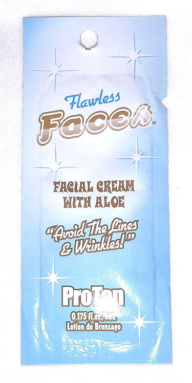 Flawless Faces * Facial Tanning Cream * .175oz Packette
