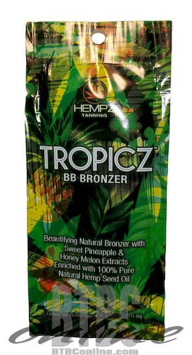 TROPICZ BB Bronzer * Beautifying Natural Bronzer * .57oz Packette