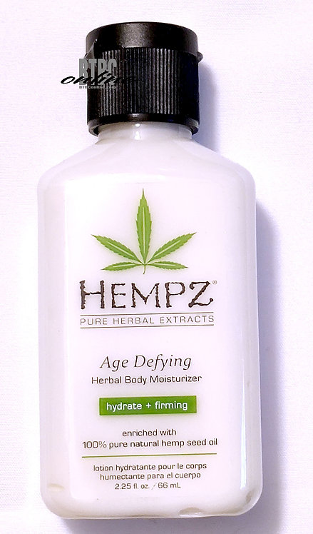 Age Defying Herbal Body Moisturizer * 2.25oz Bottle