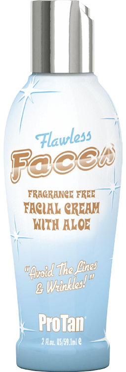 Flawless Faces * Facial Tanning Cream * 2oz Bottle