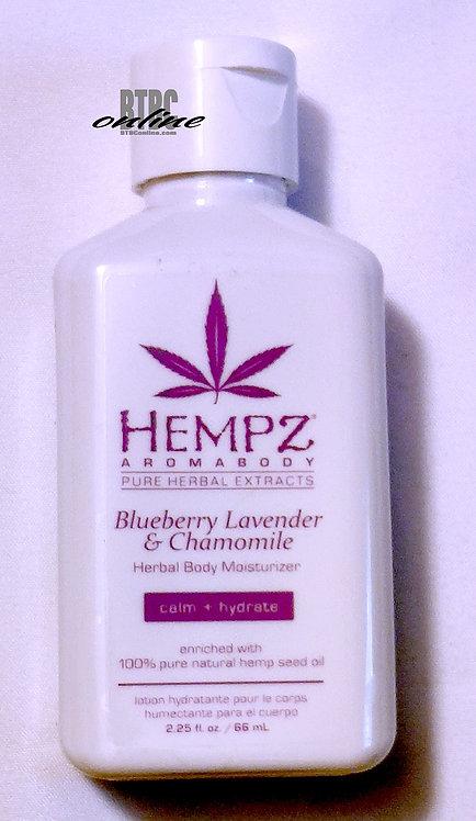 Blueberry, Lavender & Chamomile Herbal Body Moisturizer * 2.25oz Bottle