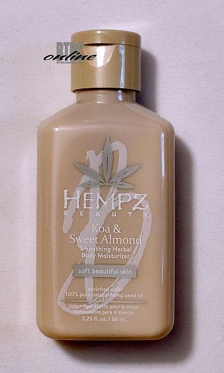 Koa & Sweet Almond Soothing Herbal Body Moisturizer * 2.25oz