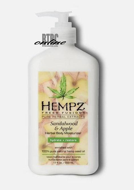 Sandalwood & Apple Herbal Body Moisturizer * 17oz