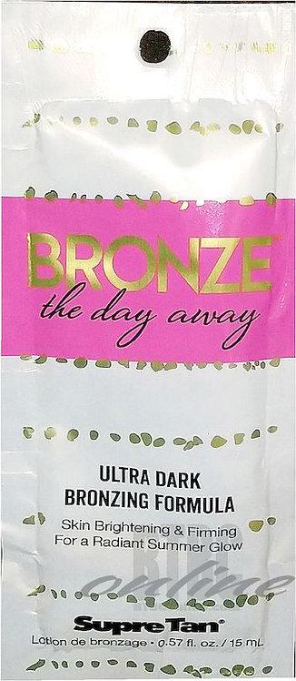 Bronze The Day Away * Ultra Dark Bronzing Formula * .57oz Packette