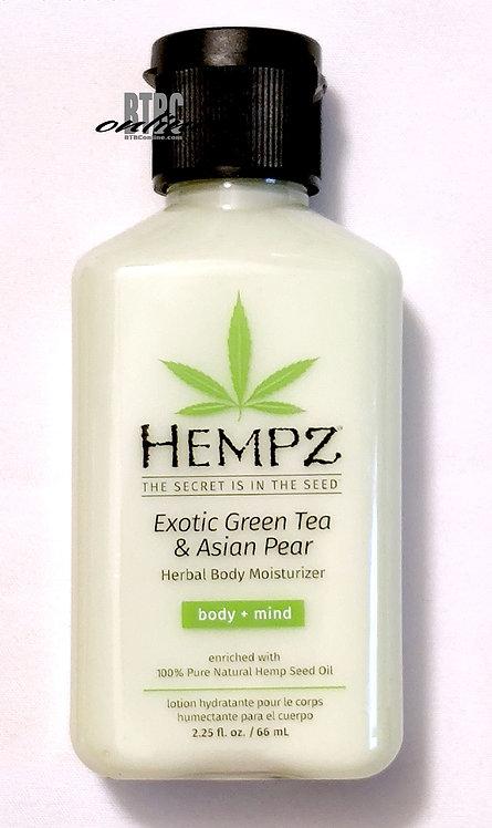 Exotic Green Tea & Asian Pear Herbal Body Moisturizer * 2.25oz Bottle