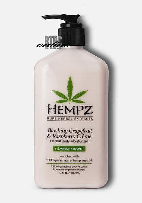 Blushing Grapefruit & Raspberry Creme Herbal Body Moisturizer * 17oz Bottle